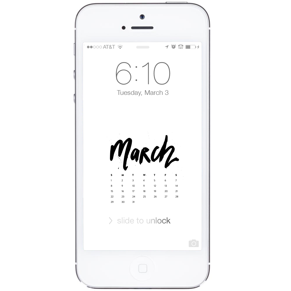 March Desktop Iphone Wallpapers Ashlee Proffitt