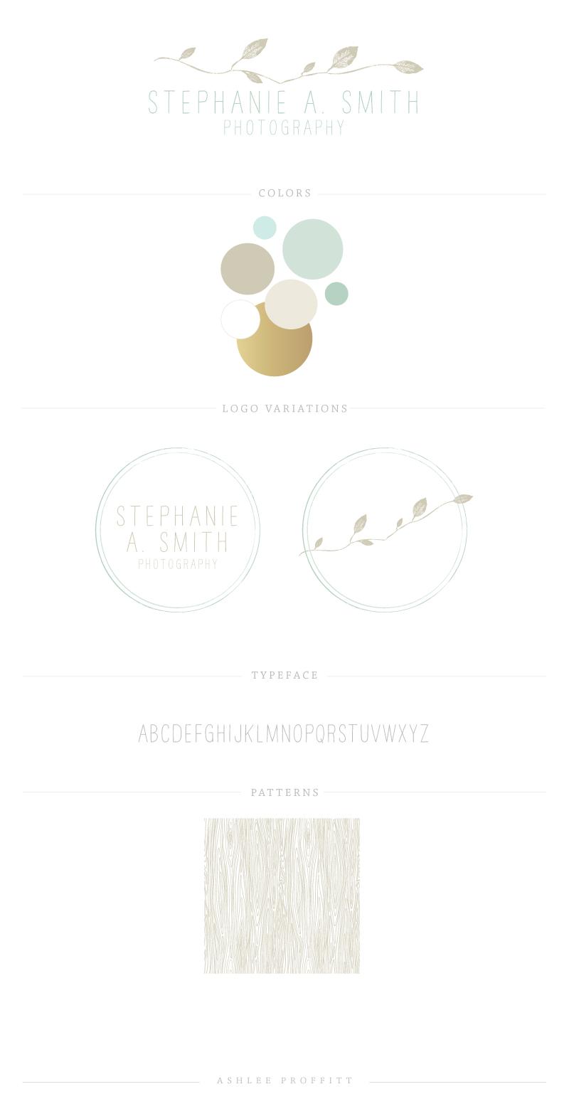 Stephanie Smith Brand Elements | by Ashlee Proffitt