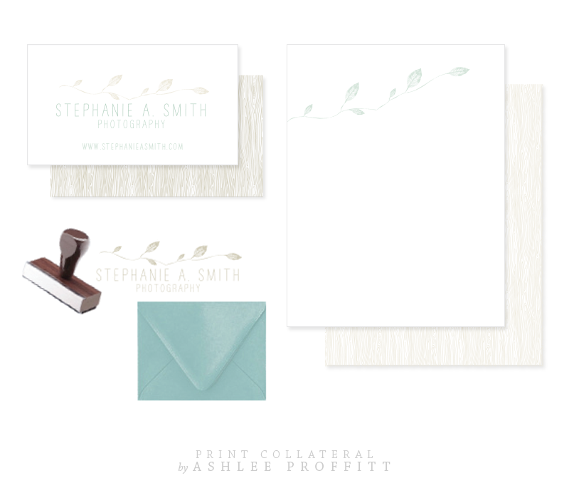 Stephanie Smith Print Collateral by Ashlee Proffitt
