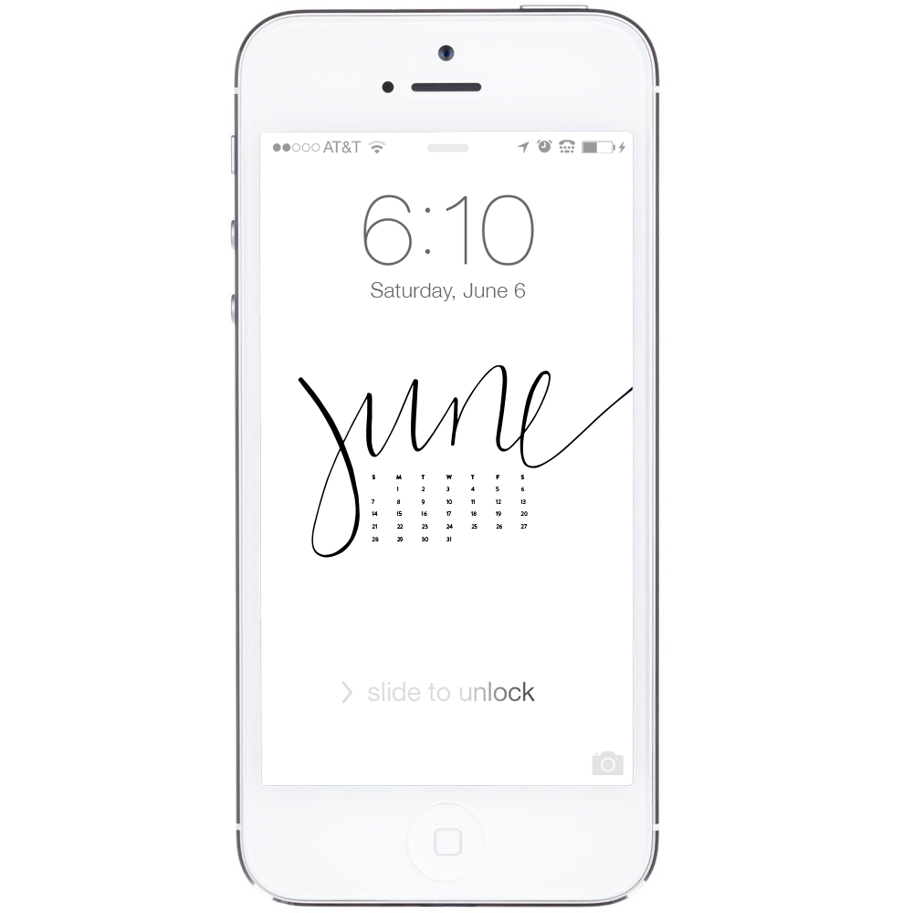 Free Computer Desktop + iPhone Wallpapers | ashleeproffitt.com/blog | Brush Lettering by Ashlee Proffitt
