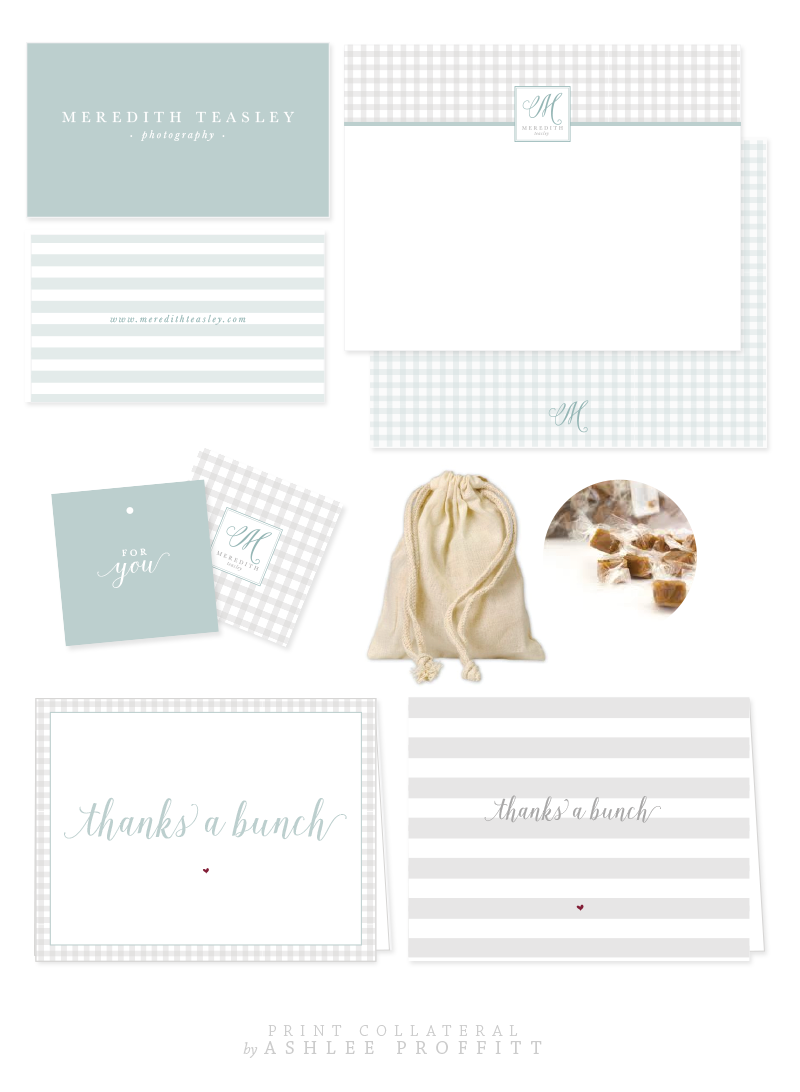 Meredith Teasley Brand & Collateral Elements by Ashlee Proffitt