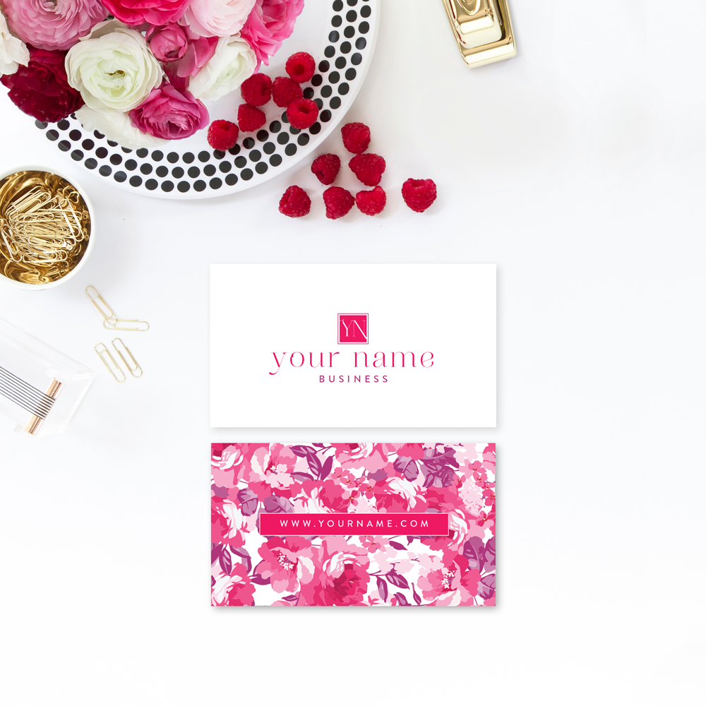 The Branding Parlor | Bright Elegance | Pre-Made Brand Collection by Ashlee Proffitt