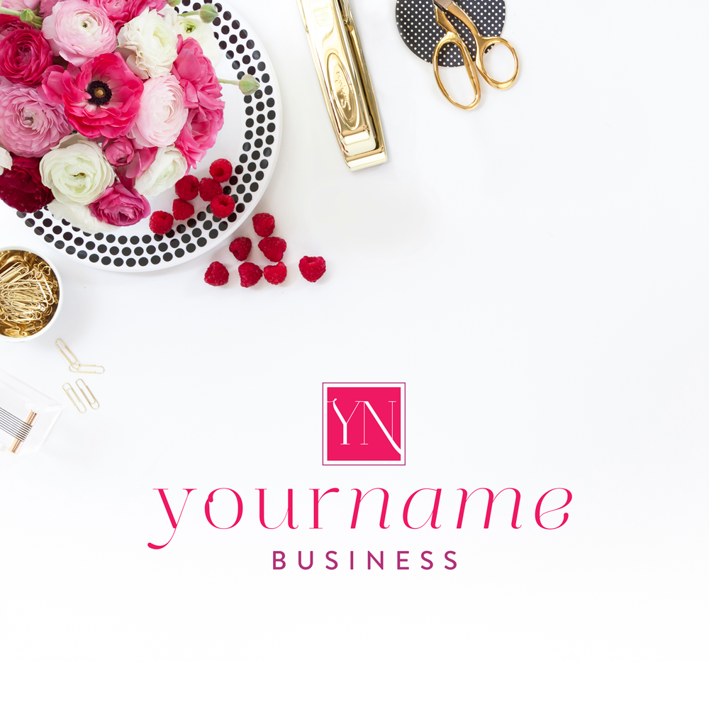 Branding Parlor: Pre-Designed Brand Collections (perfect for the small business owner!)   Bold Elegance   by Ashlee Proffitt   shop.ashleeproffitt.com