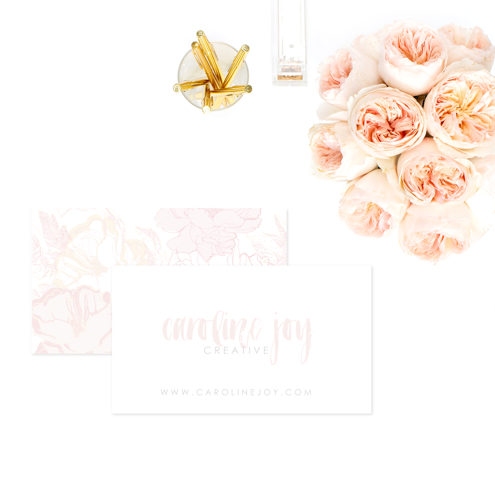 The Branding Parlor | Graceful Luxury | Pre-Made Brand Collection by Ashlee Proffitt