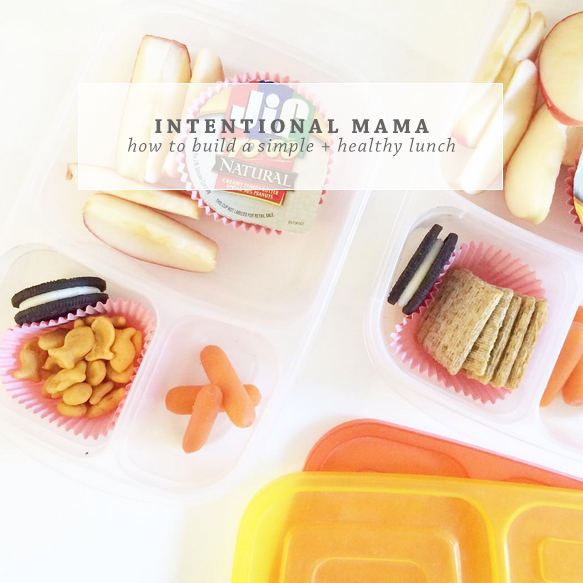 How To Pack A Simple & Healthy Lunchbox | Ashlee Proffitt | Intentional Mama Series