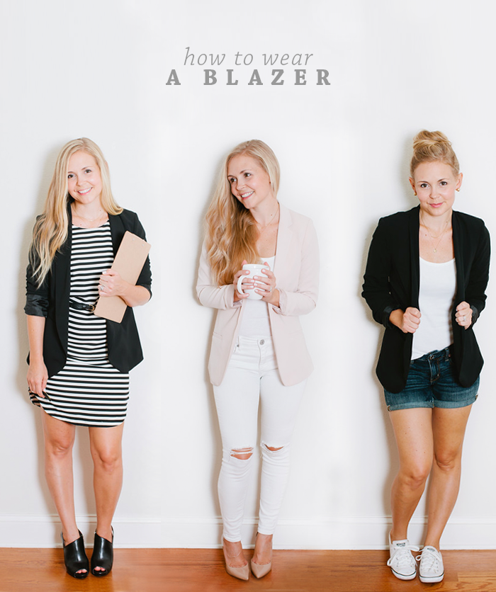 How To Wear A Blazer | Intentional Style by Megan Michele & Ashlee Proffitt