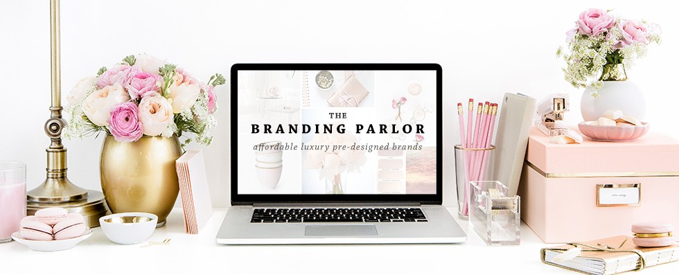 The Branding Parlor by Ashlee Proffitt | Pre-Designed Brands
