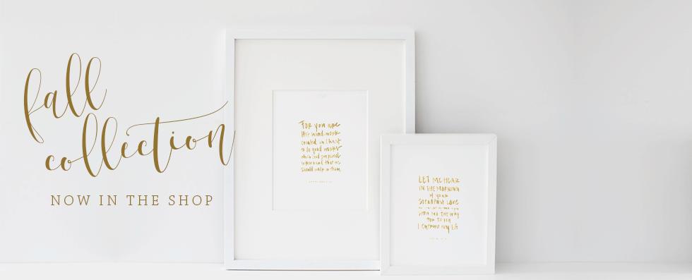 Ashlee Proffitt Shop | Bible Verse Art Prints