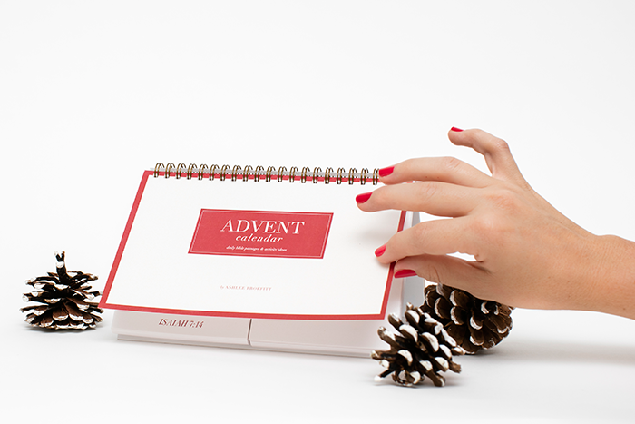 Christmas Advent Calendar & Advent Activities by Ashlee Proffitt