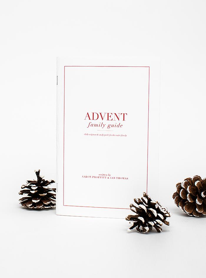 Christmas Advent Family Guide by Aaron Proffitt & Ian Thomas