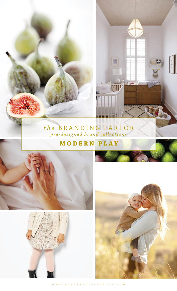 The Branding Parlor: Pre-Designed Brand Collections | Modern Love | www.TheBrandingParlor.com