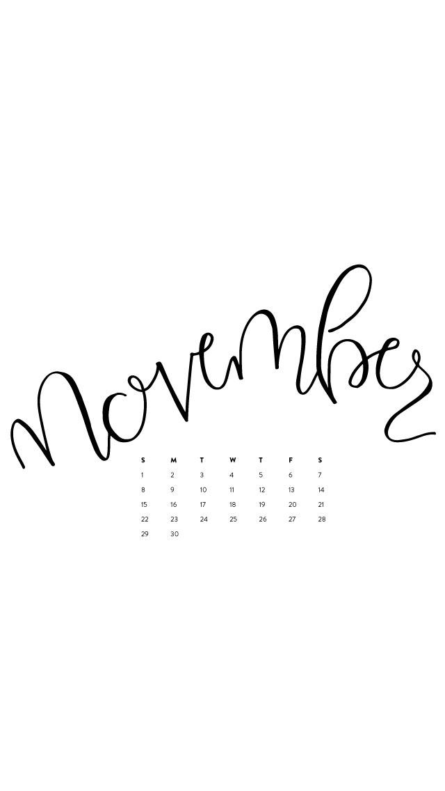 November Desktop & IPhone Wallpapers – Ashlee Proffitt