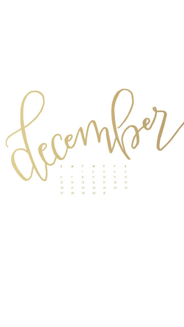 December Desktop & Phone Wallpapers – Ashlee Proffitt