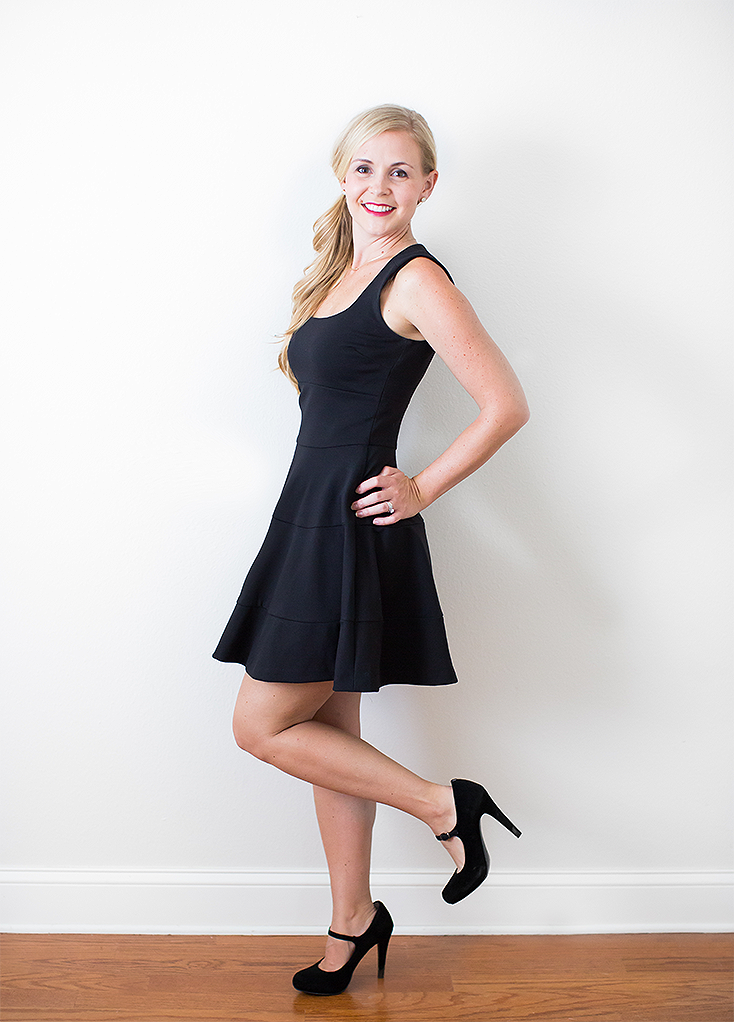 The Little Black Dress Two Ways | Intentional Style by Megan Michele & Ashlee Proffitt