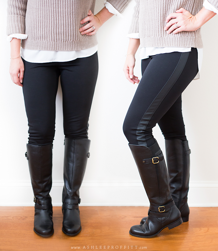 Boots worth investing in. Naturalizer Black Riding Boots | Ashlee Proffitt