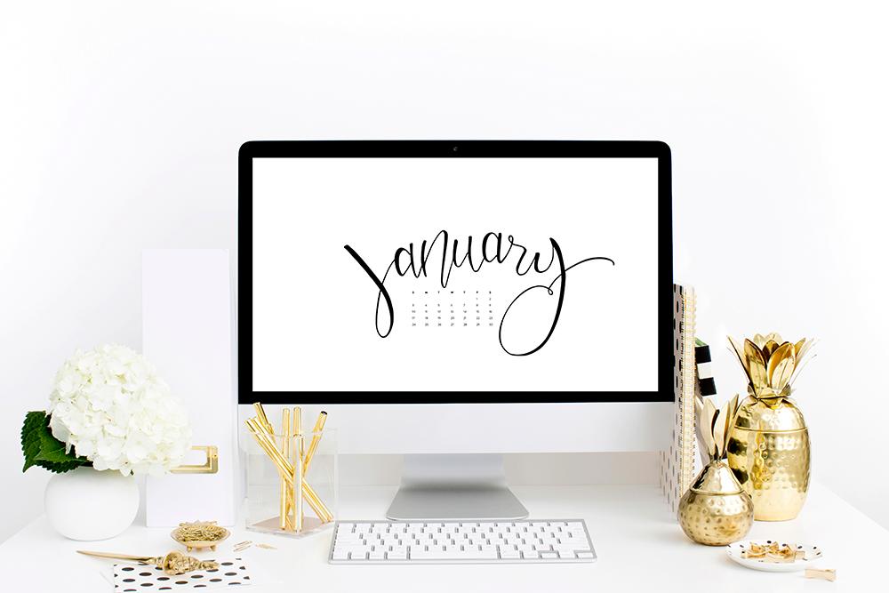 Free Computer Desktop + iPhone Wallpapers | ashleeproffitt.com/blog | Hand Lettering by Ashlee Proffitt
