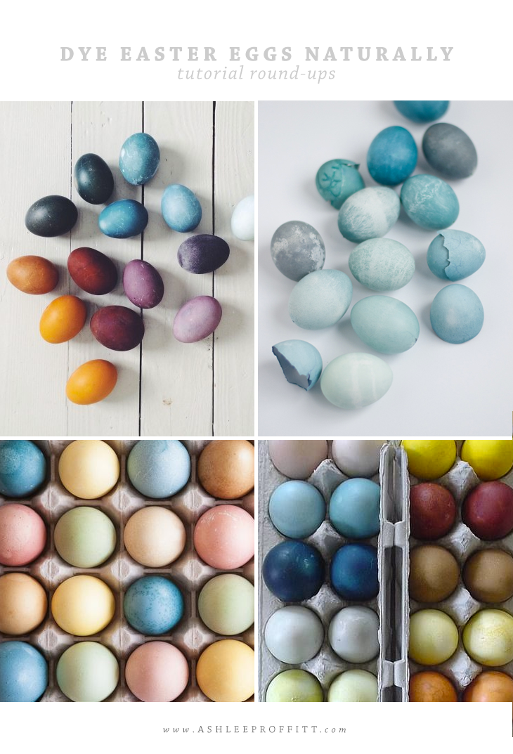 Dye Easter Eggs Naturally | Tutorials | Round-Up by Ashlee Proffitt