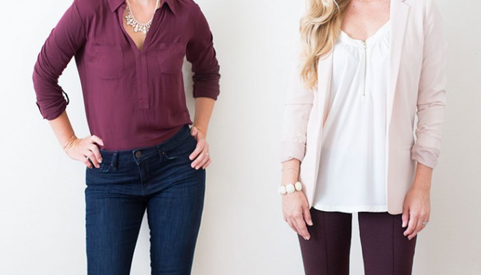 How To Wear | Color: Wine Marsala | Two Looks | Megan Michele for Ashlee Proffitt