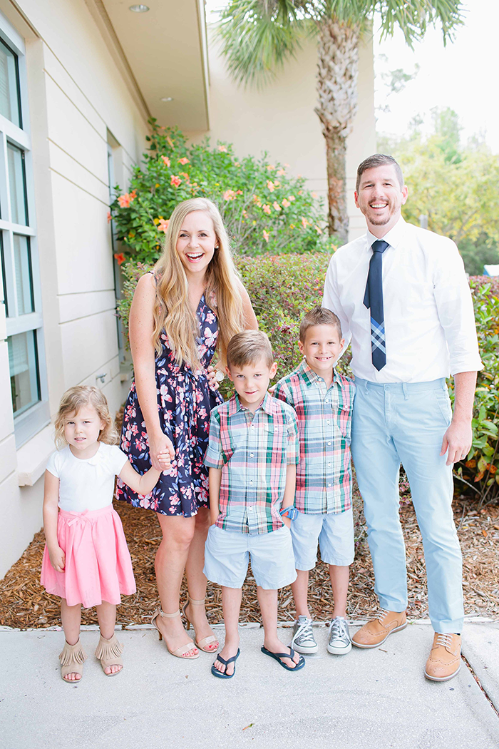Spring Style for Families | Family Photos Outfit Inspiration | by Ashlee Proffitt