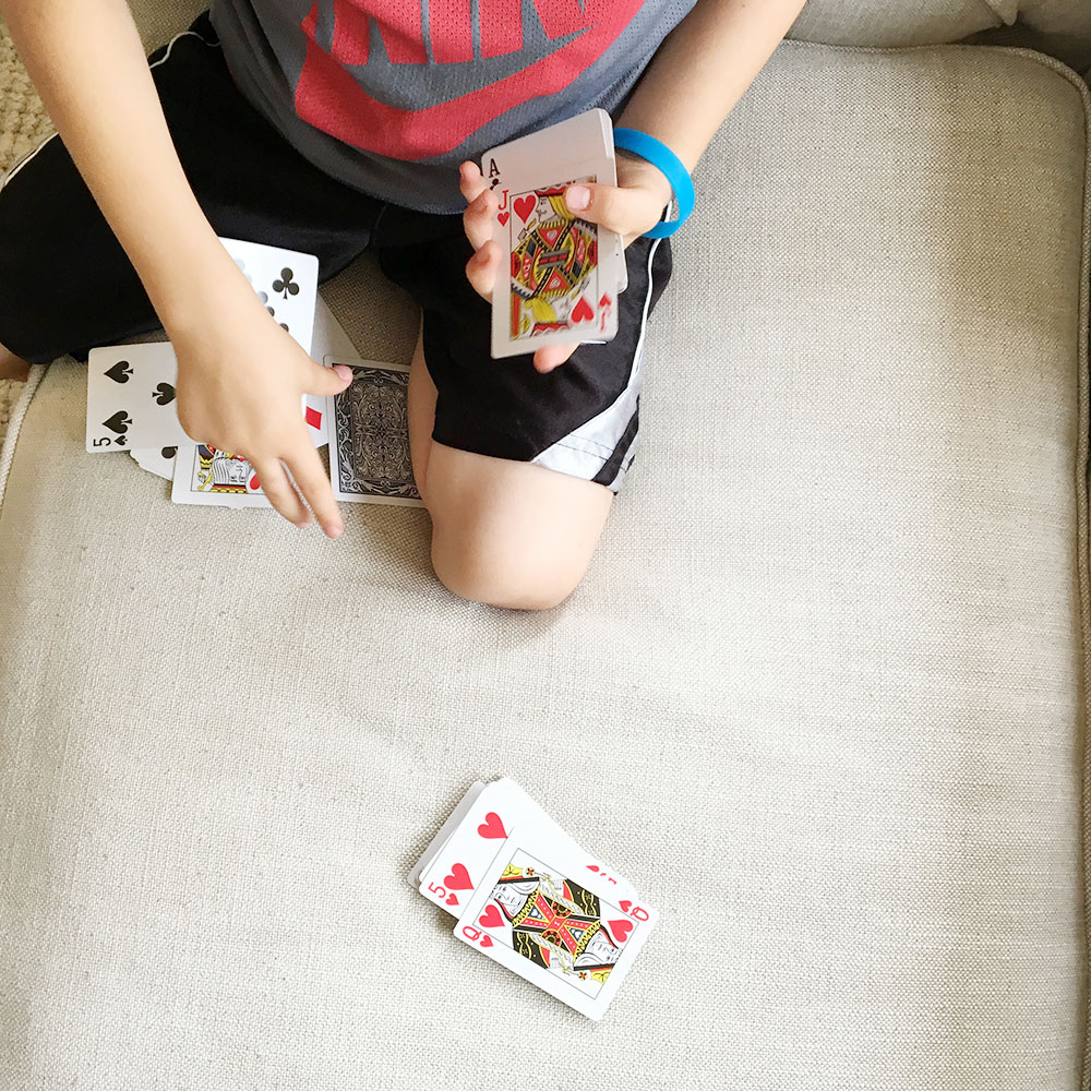 Card Games With Littles | Ashlee Proffitt