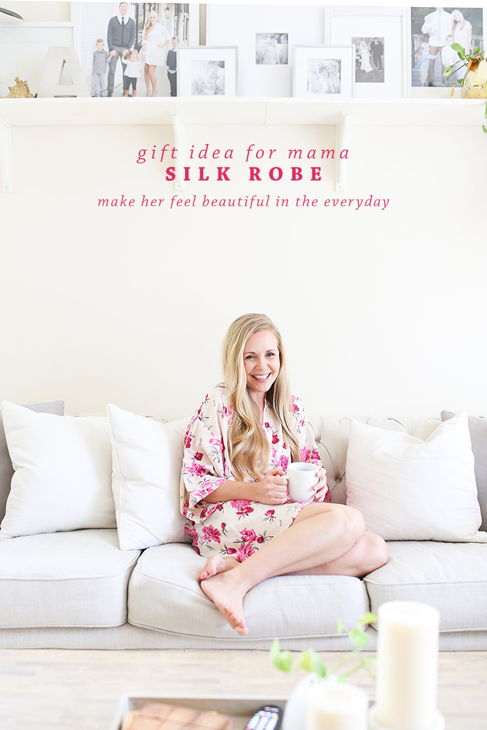 Mother's Day Gift for the Stylish Mama | Silk Robe by Katherine Bignon: http://shop.katherinebignon.com/ | Ashlee Proffitt Blog