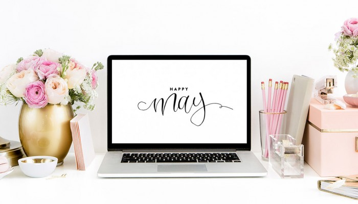 Free Computer Desktop + iPhone Wallpapers | ashleeproffitt.com/blog | Hand Lettering by Ashlee Proffitt