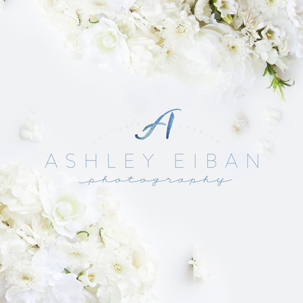 Ashley Eiban Photography Brand Reveal | Branding by Ashlee Proffitt