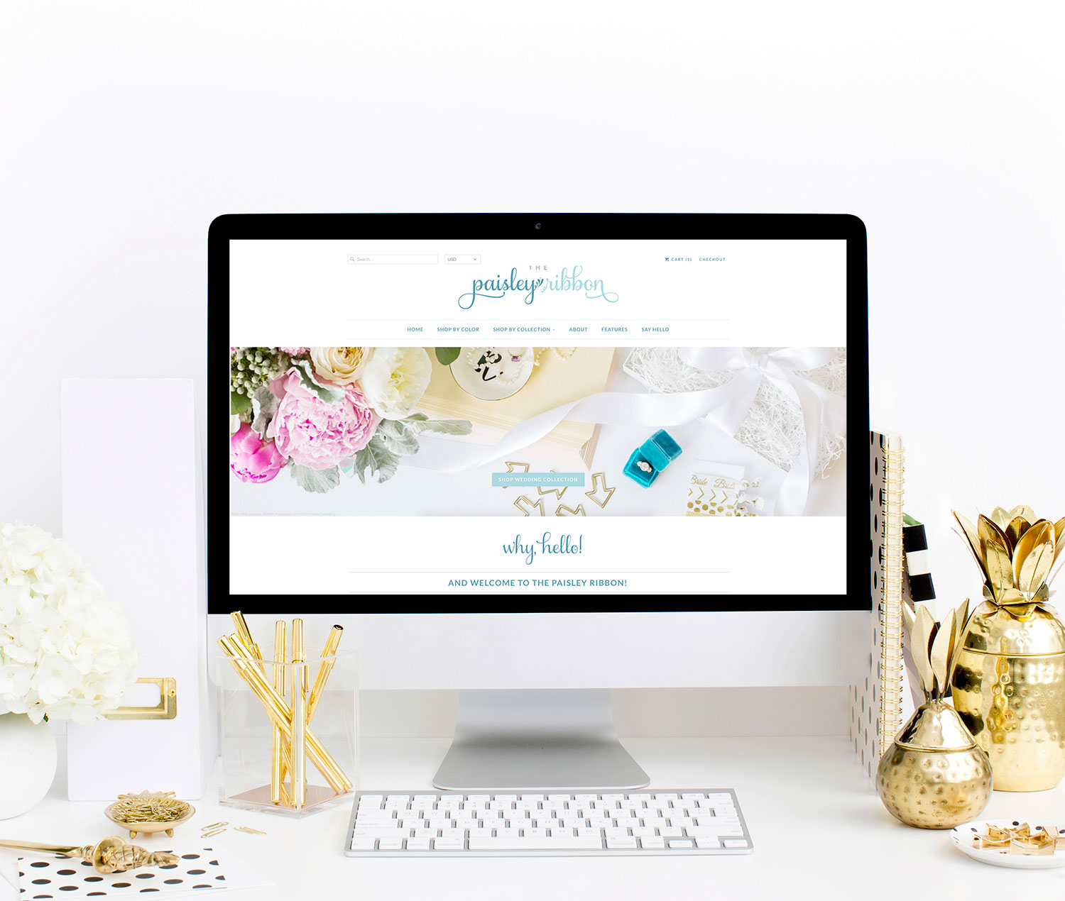 The Paisley Ribbon | Brand Reveal | Branding by Ashlee Proffitt