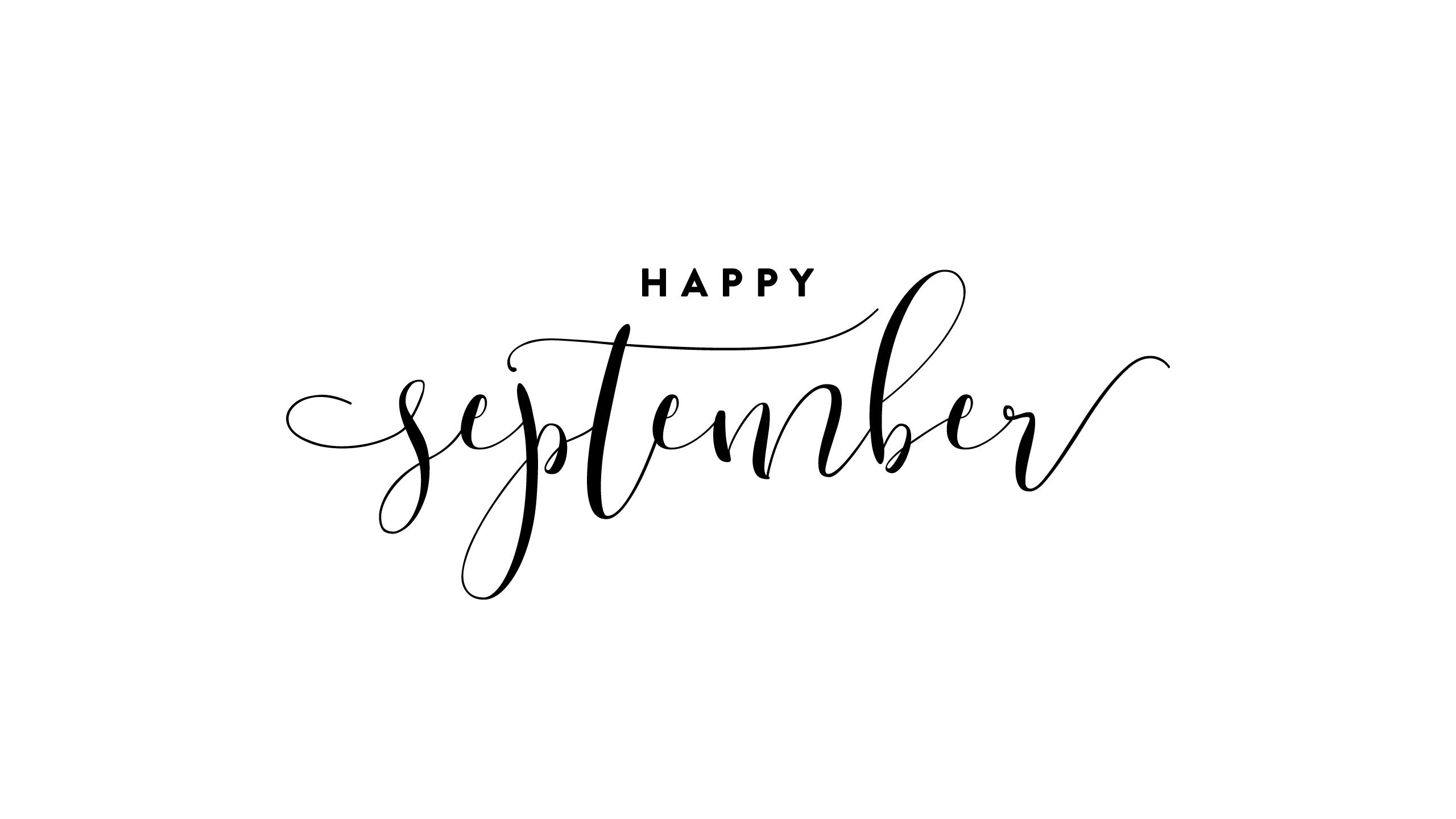 Calendar Happy September Verse