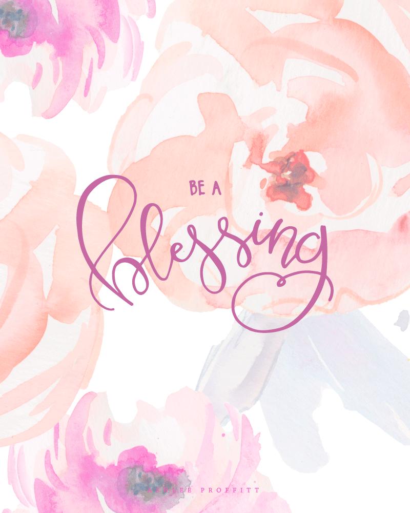 Be A Blessing  2017 Goals   Ashlee Proffitt