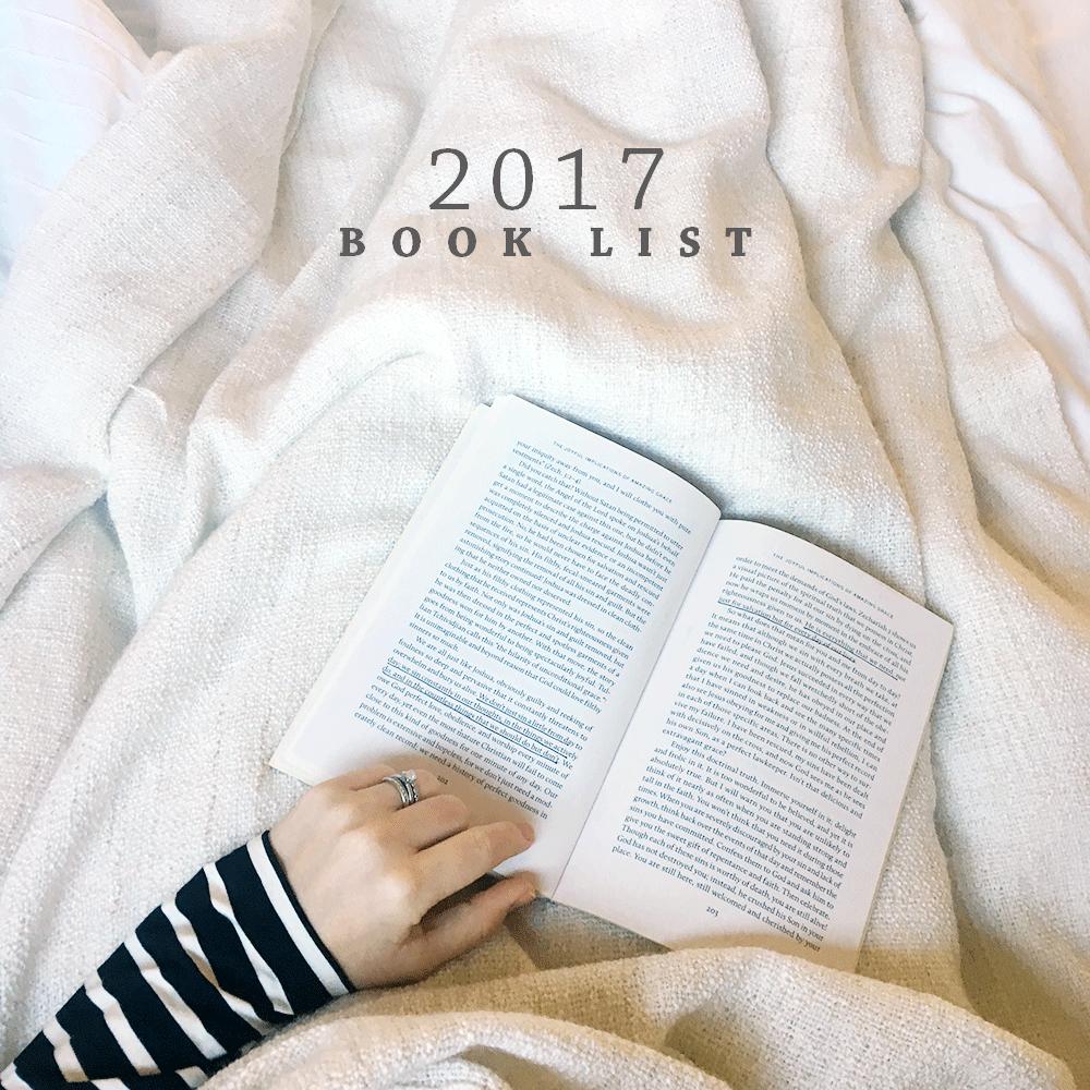 Book List 2017 | Ashlee Proffitt