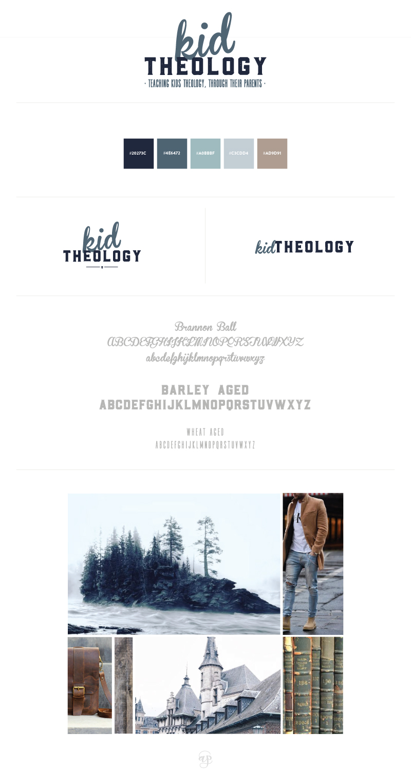 Brand Elements | Kid Theology | Equipping Parents to Disciple Children | Branding by Ashlee Proffitt