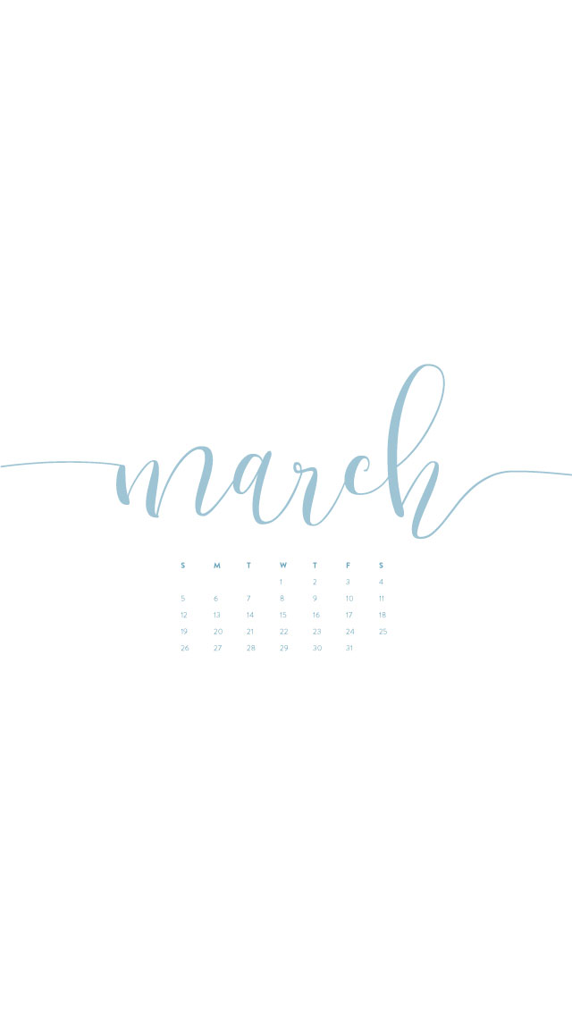 March Wallpapers Phone Tablet Desktop Ashlee Proffitt