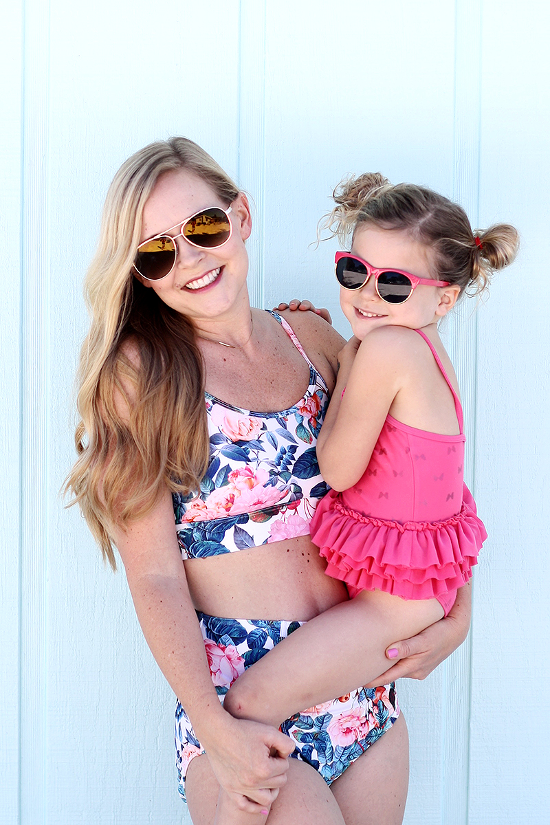 Modest and feminine swimsuits | Lime Ricki | Ashlee Proffitt
