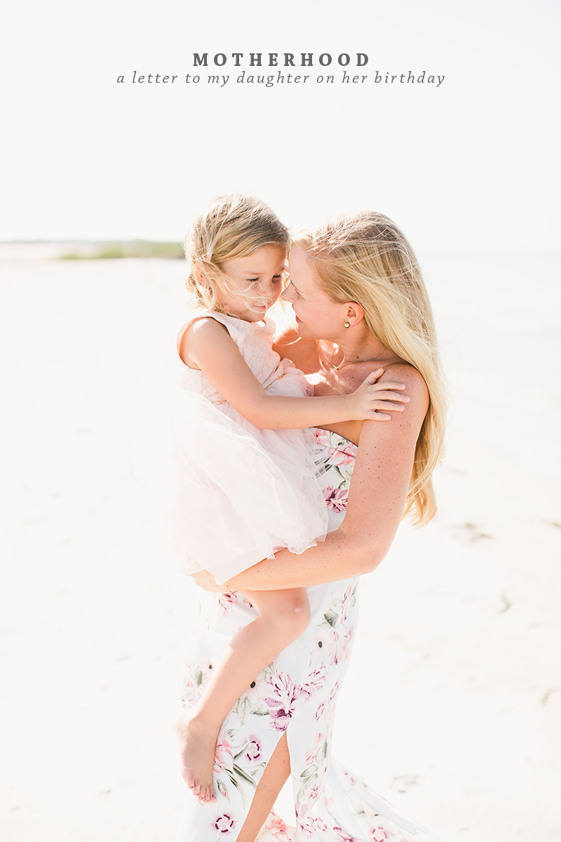 Motherhood A Letter to My Daughter: Dear Adelee | For mothers with daughters | Ashlee Proffitt | Photography by Laura Foote