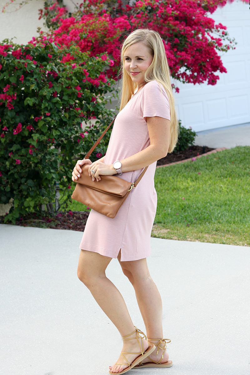 Sseko Leather Ribbon Sandals & Crossbody Bag | Ashlee Proffitt