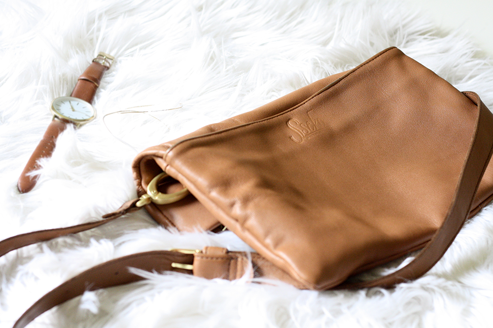 Sseko Leather Crossbody Bag | Ashlee Proffitt