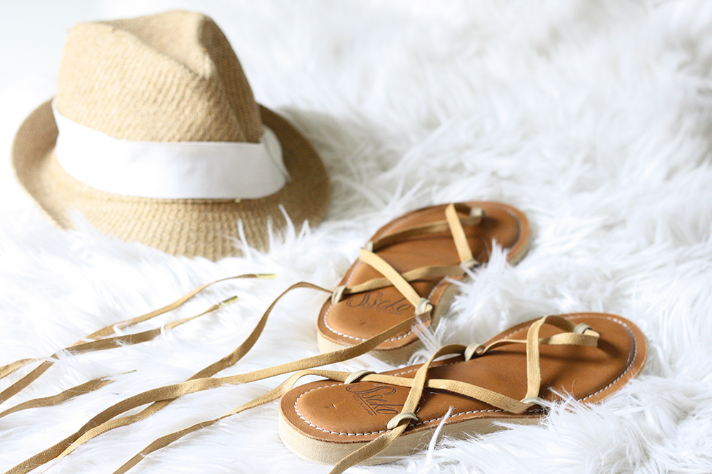 Sseko Leather Ribbon Sandals | Ashlee Proffitt
