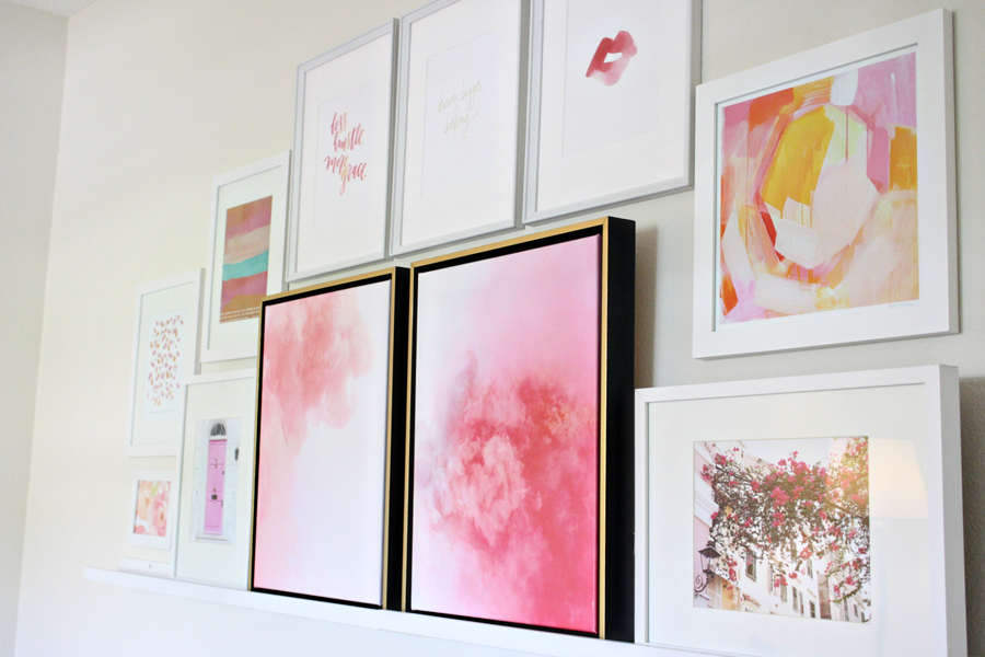 The perfect art for your Gallery Wall | Lindsay Letters & Anna With Love| by Ashlee Proffitt