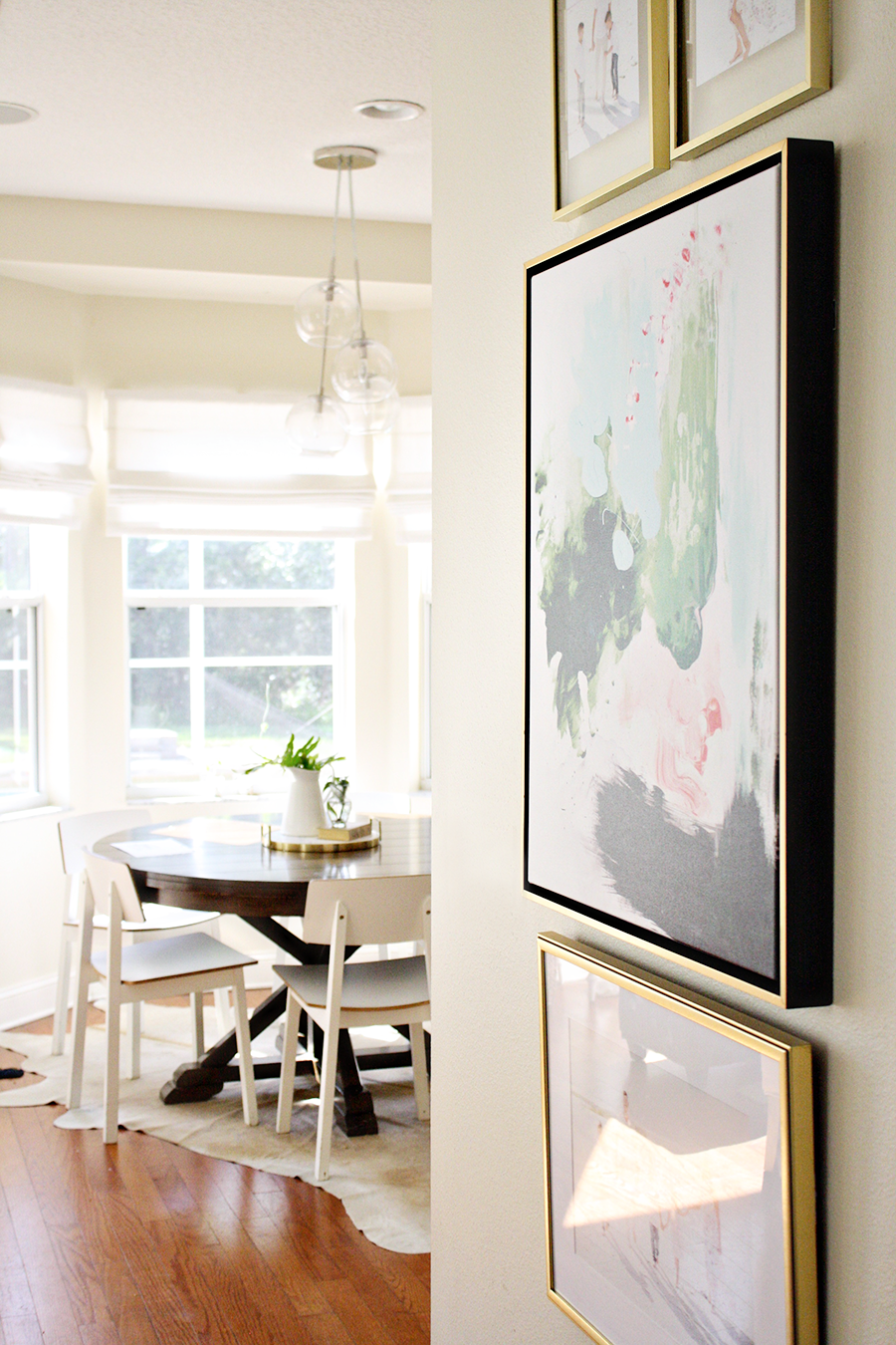 The perfect abstract art for your Gallery Wall | Lindsay Letters | by Ashlee Proffitt