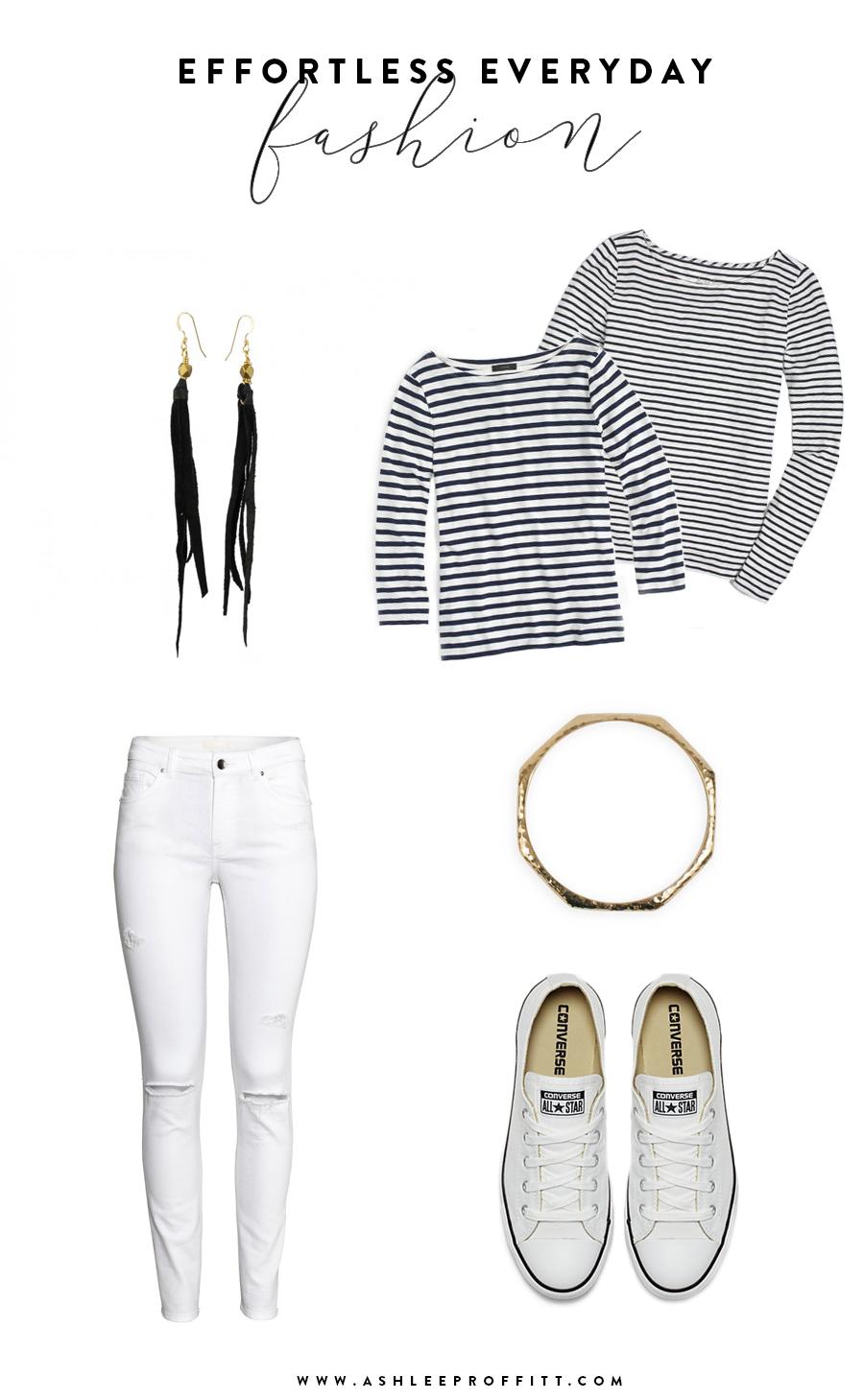 Effortless Everyday Fashion | Leather Tassel Earrings by Sseko | Ashlee Proffitt