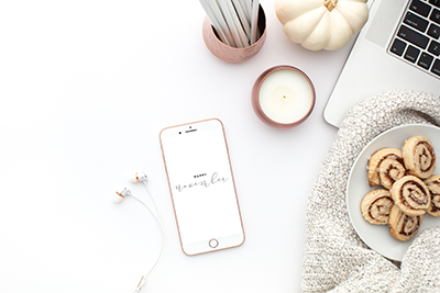 Tech Wallpapers for your phone, tablet or computer | November Wallpapers by Ashlee Proffitt