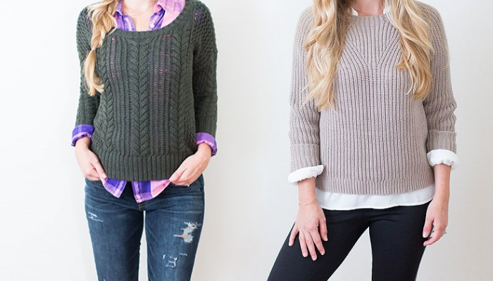 How To Wear Knit: Two Looks, Tips For Styling & Sources | Megan Michele & Ashlee Proffitt