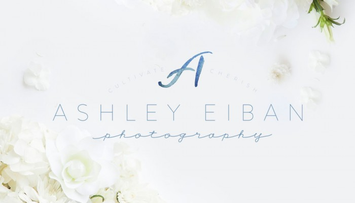 Ashley Eiban Photography Brand Reveal | Branding by Ashlee Proffitt